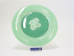 TEMPERED REFLET AMAZONE DINNER PLATE