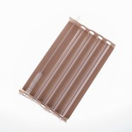 GLASS SMOOTHIE STRAWS 4 pcs + cleaning brush