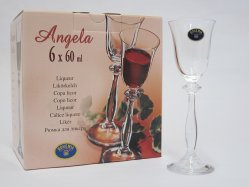 ANGELA Liqueur glass 6 cl Giftbox