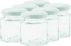 BREECH Preserve Square Jar with Twist lid 10 cl