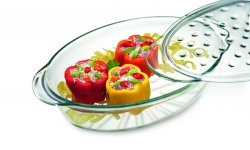SI FASHION Casserole oval with lid 3.5 l